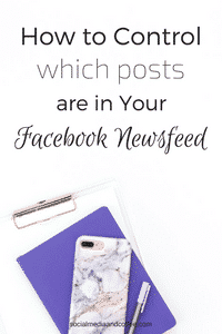 How to Control Facebook Newsfeed