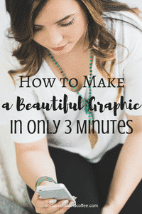 How to Make a Beautiful Graphic in Only 3 Minutes
