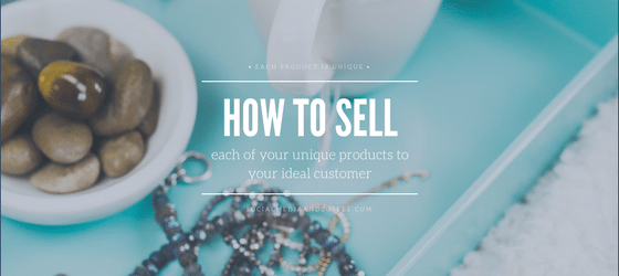 How to Sell Your Products