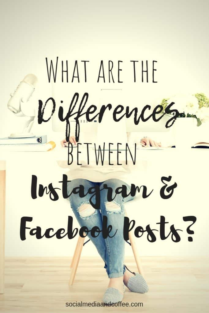 What are the Differences between Instagram and Facebook Posts? | social media tips | social media marketing | online business | facebook | instagram | #socialmedia #onlinebusiness #facebook #instagram