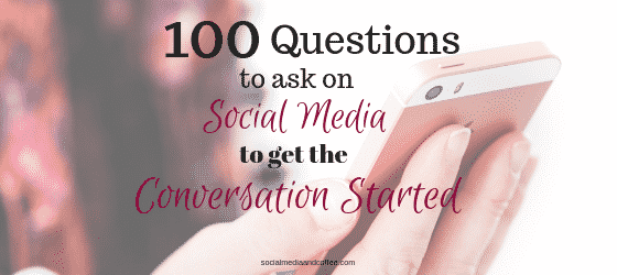 100 Questions to Ask on Social Media to get the Conversation Started | marketing | online business | #socialmedia #socialmediamarketing #onlinebusiness #marketing