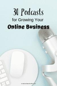 30 Podcasts for Growing Your Online Business | blog | blogging | social media marketing | #onlinebusiness #socialmedia #socialmediamarketing #onlinebusiness #blog #blogging