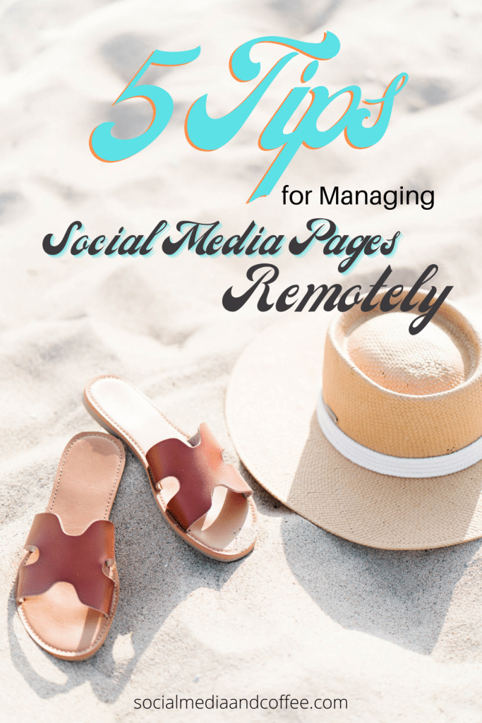 5 Tips for Managing Social Media Pages Remotely | Facebook marketing | Instagram marketing | social media marketing | online business | small business marketing | marketing ideas | social media tips | #onlinebusiness #Facebook #Instagram #Twitter #socialmedia #business #entrepreneur