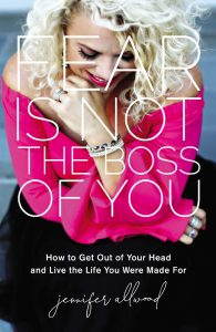 Book recommendation: Fear is not the boss of you.