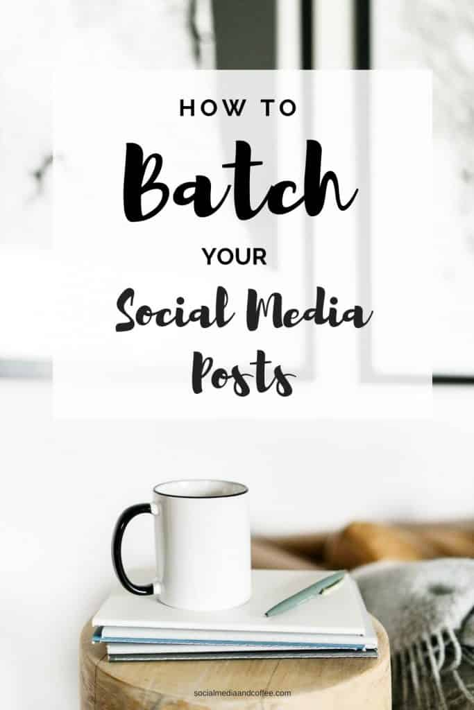 How to Batch Your Social Media Posts | social media marketing | Facebook | Instagram | Twitter | online business | blog | blogging | #socialmedia #marketing #onlinebusiness #blog #blogging #Facebook #Instagram #Twitter