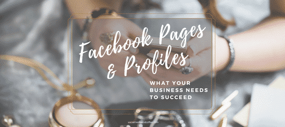 Facebook Pages and Profiles