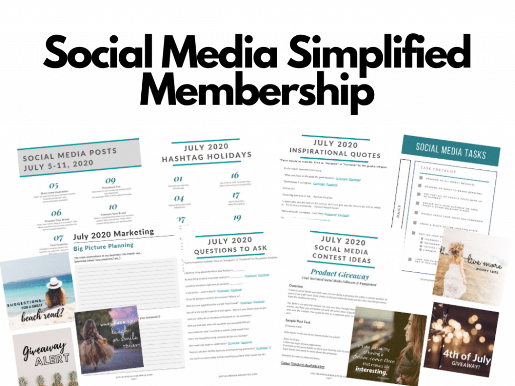 Social Media Simplified Membership