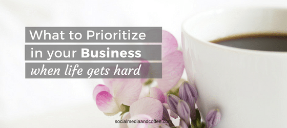 What to Prioritize