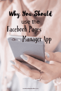 Why You Should use the Facebook Pages Manager App | social media marketing | online business | blog | blogging | #facebook #facebookmarketing #socialmedia #socialmediamarketing #onlinebusiness